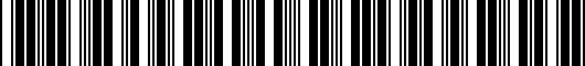Barcode for PT2066001204
