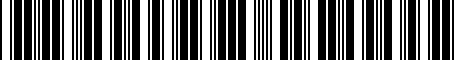 Barcode for PTR1134092
